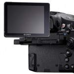 Articulating LCD screen, Sony A77 camera