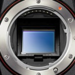 Sensor and mirror of the Sony A77