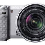 Sony NEX-5N Mirrorless camera in Silver