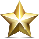 shining golden star, rating