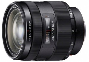 Sony DT 16-50mm F2.8 SSM lens