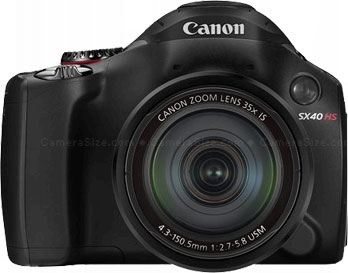 Canon SX40 HS superzoom camera