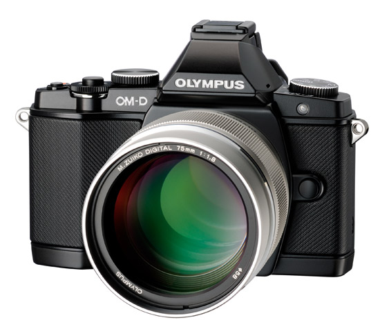 Olympus O-MD E-M5 with 75mm f/1.8 lens