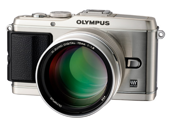 Olympus E-P3 with 75mm f/1.8 lens