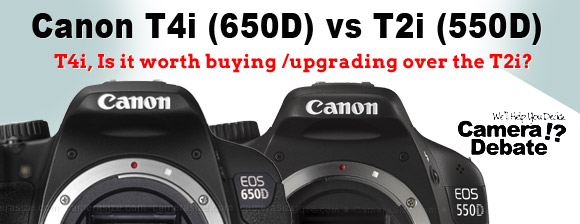 650D vs 550D (T4i vs T2i) Comparison – Differences between the two