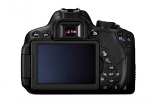 Canon 650D back