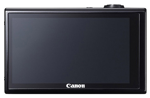 Canon IXUS 510, rear view