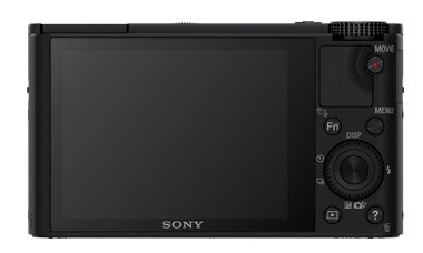 Sony RX100 LCD