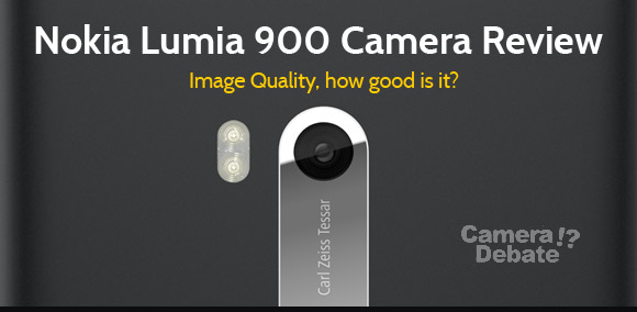 Nokia Lumia 900 rear camera