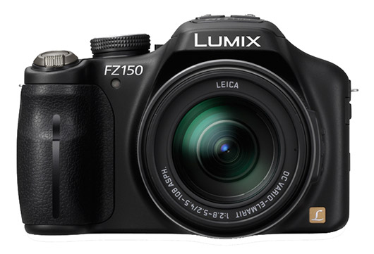 Panasonic Lumix FZ150 superzoom camera