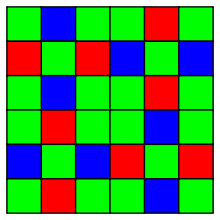 X-Trans color filter array