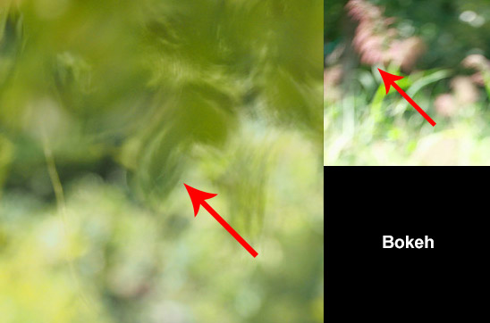 Bokeh quality, rough edges