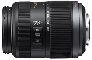 Panasonic 45-200 mm MFT lens