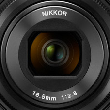 Nikkor 18.5 mm lens - Coolpix A
