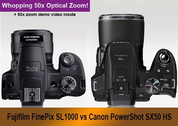 Canon Camera Banner Superzoom Cameras Banner