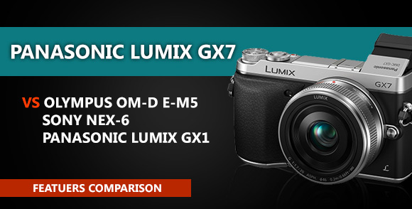 Panasonic Lumix GX7 camera
