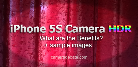 iPhone 5S camera HDR banner