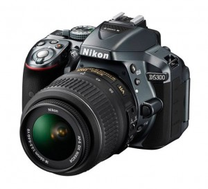 Nikon D5300 (gray) with the 18-55mm kit lens