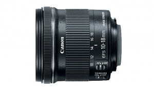 Canon EF-S 10-18mm f/4.5-5.6 IS  lens