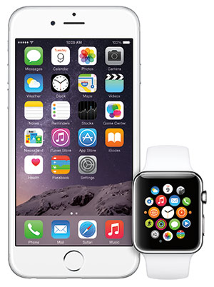 Apple Watch and iPhone 6 Plus