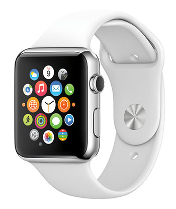 Apple Watch white wristband