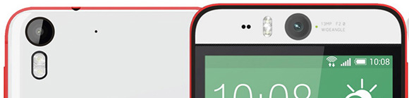 HTC Desire Eye front and rear cameras