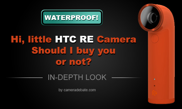HTC RE camera in orange