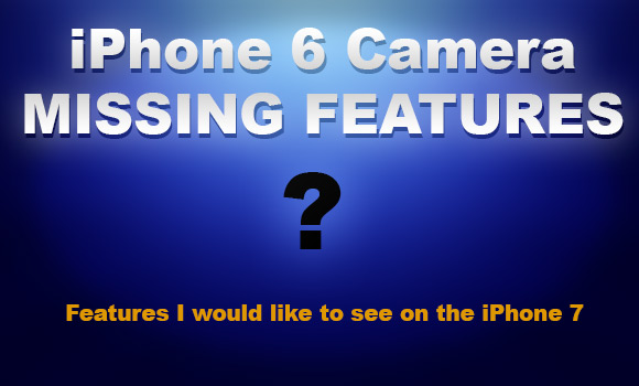iPhone 6 missing features text