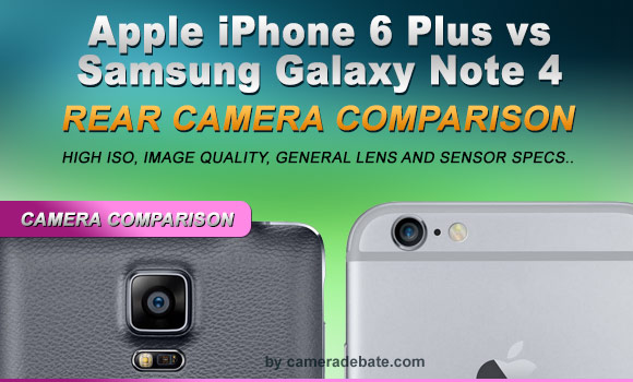 iPhone 6 Plus and Galaxy Note 4 camera side by side comparison