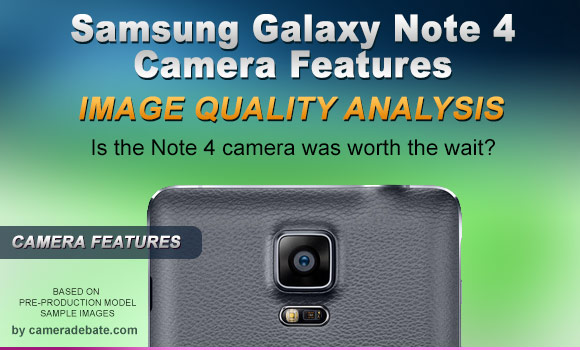 Galaxy Note 4 rear camera