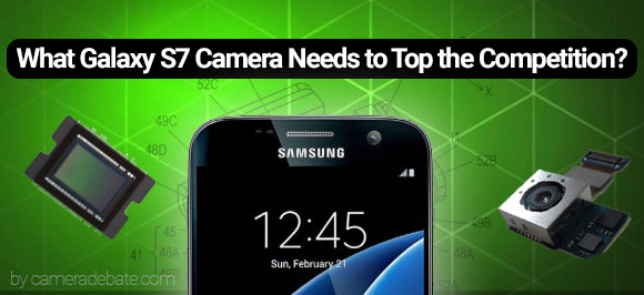 Galaxy S7 phone with sensor and OIS hardware