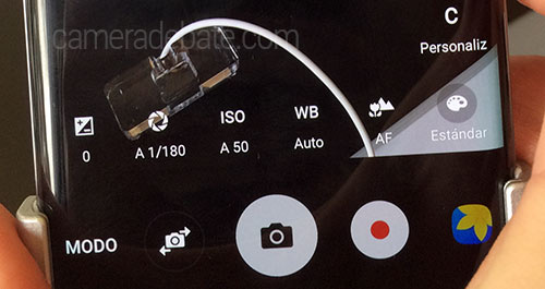 Galaxy S7 manual mode camera settings